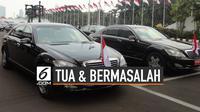 Tua dan Bermasalah, Ini Kondisi Mobil Dinas Jokowi