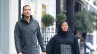 Janet Jackson bersama suami. (Istimewa)