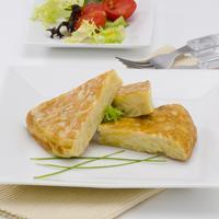 Ilustrasi omelet spanyol./Copyright shutterstock.com/g/Pat_Hastings