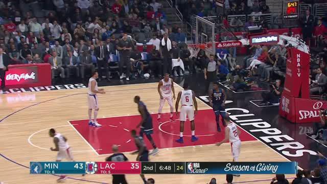 Berita video game recap NBA 2017-2018 antara Minnesota Timberwolves  melawan LA Clippers dengan skor 113-107.