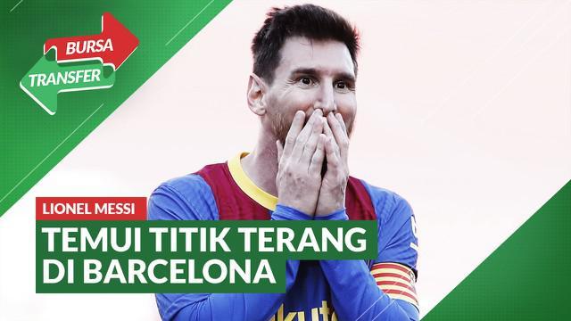 Berita Video Masa Depan Lionel Messi di Barcelona Mulai Temui Titik Terang