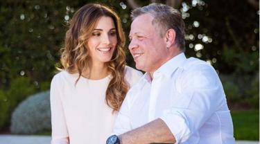 [Bintang] 5 Potret Ratu Rania dari Yordania, Cantiknya Nggak Pernah Luntur