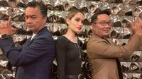 Dino Patti Djalal, Cinta Laura, dan Ridwan Kamil (dok. Instagram @claurakiehl/https://www.instagram.com/p/B1AQbvWg0N8/Putu Elmira)