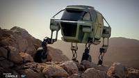 Hyundai sedang mengembangkan mobil yang bisa berjalan seperti hewan berkaki empat. (Autoevolution)