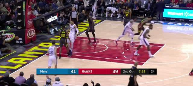 Berita video game recap NBA 2017-2018 antara Philadelphia 76ers melawan Atalanta Hawks dengan skor 121-113.