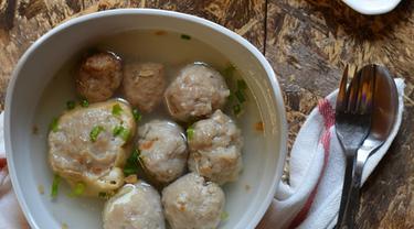 Resep Tahu Bakso Daging Ayam Lifestyle Fimela Com