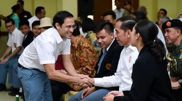 Erick Thohir, Wishnutama dan Nadiem Main Drama di Depan Jokowi