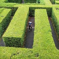 Taman Labirin Coban Rondo, Malang, Jawa Timur. (bimadwi17/Instagram)