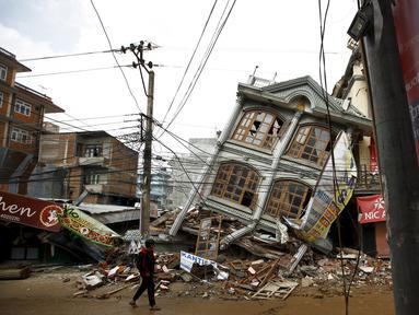 Hasil gambar untuk Gempa Nepal