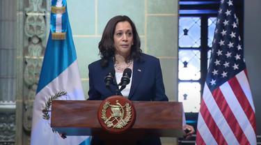 Wapres AS Kamala Harris di Guatemala.