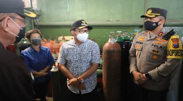 Tabung Oksigen dan Obat untuk Penanganan Covid-19 di Malang Mulai Menipis
