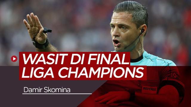 Berita video mengenai wasit yang memimpin laga final Liga Champions antara Tottenham Vs Liverpool, Damir Skomina.