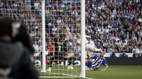 Gol Nacho bawa Madrid unggul atas Alaves (AP Photo/Daniel Ochoa de Olza)