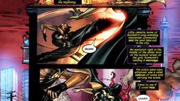 Cerita berlatar Little Jakarta itu muncul dalam cerita komik Batgirl dari The New 52! bernomor 9: Night of The Owls, terbitan DC Comics, Mei 2012 (Istimewa)