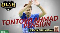 Kolom Erwin Fitriansyah: Tontowi Ahmad Pensiun. (Bola.com/Dody Iryawan)