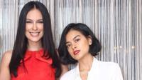 Di Instagram, Sophia Latjuba memamerkan kebersamaan dengan putrinya, Eva Celia. Dilihat-lihat, seperti saudara kembar. (Sumber foto: sophia_latjuba88/instagram)