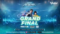 Grand Final GoPay Arena Championship 2020 di Vidio. (Sumber: Vidio)
