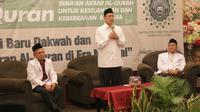 Menteri Agama Lukman menghadiri acara konferensi Alquran di Jakarta. (Istimewa)