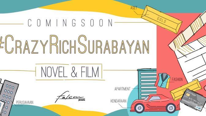 Falcon Pictures Akan Garap Film dan Novel #CrazyRichSurabayan