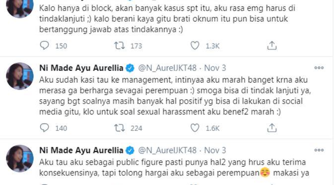 Alami Pelecehan Seksual, Aurel JKT48 Lapor Polisi - ShowBiz Liputan6.com