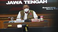 Ketua Satgas COVID-19 Ganip Warsito memberikan sambutan dalam Rapat Koordinasi Penanganan COVID-19 bersama Pemerintah Provinsi Jawa Tengah di Semarang, Jawa Tengah, Rabu (2/6/2021). (Badan Nasional Penanggulangan Bencana/BNPB)