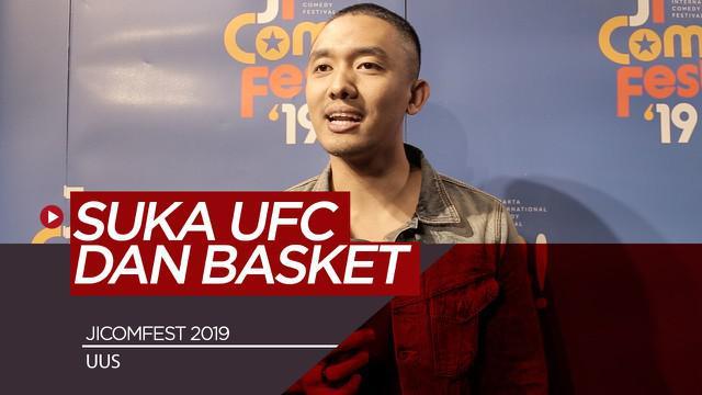 Berita Video Komika JICOMFEST 2019 Uus Punya Alasan Tersendiri Memilih Olahraga UFC
