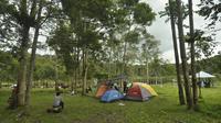 Objek wisata Telaga Tambing di Taman Nasional Lore Lindu. Lokasi itu menjadi andalan wisatawan untuk berlibur dengan berkemah. Sejak 17 Maret, kawasan konservasi itu masih ditutup karena pandemi Covid-19. (Foto:Liputan6.com/ Heri Susanto).