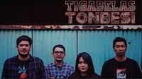 Band indie Tigabelas Tonbesi. (Istimewa)