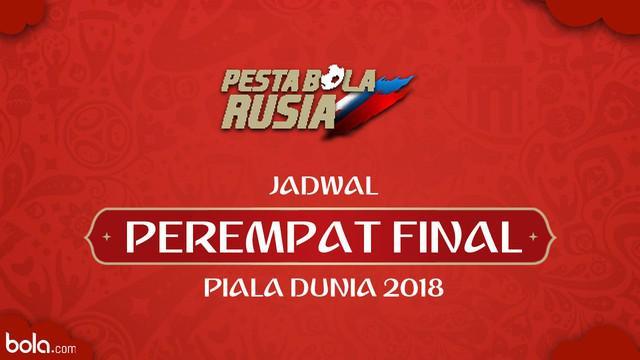 Berita video jadwal Perempat Final Piala Rusia Rusia 2018. Belgia akan menantag Brasil di Kazan' Arena, Kazan', Sabtu(7/6/2018).