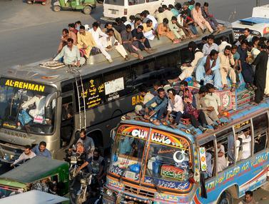 Mudik Idul Adha di Pakistan