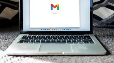 Ilustrasi cara membuat email, Gmail, desktop