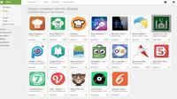 Liputan6.com dan Vidio dalam daftar aplikasi terfavorit selama Ramadan di Google Play Store (Liputan6.com/Jeko Iqbal Reza)