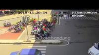 Gara-gara dengar peringatan dari Dishub Kota Bandung mungkin nanti nggak bakalan ada pelanggaran di zebra cross lagi nih. (Foto: Screen Capture)