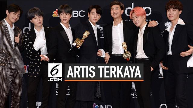 Popularitas Kpop menduduki industri musik dunia. Oleh sebab itu, beberapa musisi Kpop dinobatkan menjadi artis terkaya di Asia. Siapa saja? ini dia..