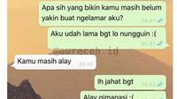 6 Chat Pacar Terlalu Jujur Ini Bikin Nyesek Bacanya (sumber: Instagram/awreceh.id)