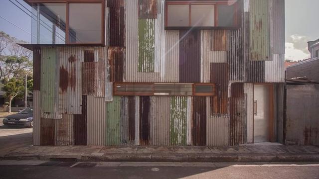 Bikin Bengong Desain Rumah Super Unik Dari Seng Bekas Citizen6 Liputan6 Com