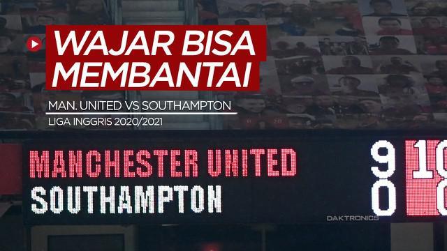 Berita video mengapa Manchester United bisa membantai Southampton 9-0 pada pekan ke-22 Liga Inggris 2020/2021? Di sini diungkap beberapa penyebabnya.