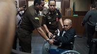 Kivlan Zein jalani sidang perdana kasus kepemilikan senjata api ilegal. (Liputan6.com/Muhammad Radityo Priyasmoro)