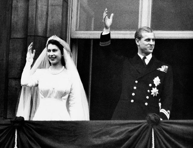 Pernikahan Pangeran Philip dan Ratu Elizabeth II, 20 November 1947. (AP Photo/File)