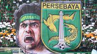 Logo Bonek, populer di Surabaya, dibuat oleh orang Makassar. (Bola.com/Aditya Wany)