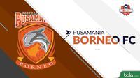 Pusamania Borneo FC Shopee Liga 1 2019 (Bola.com/Adreanus Titus)