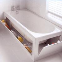 Kamar mandi kecil pun ternyata juga bisa bikin kamu nyaman dan terasa luas.