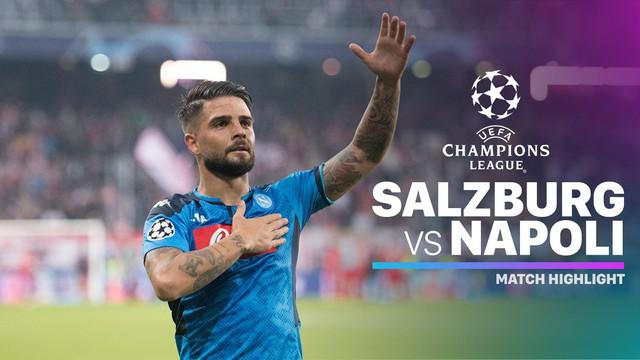 Berita video highlights matchday 3 Grup E Liga Champions 2019-2020 antara Salzburg melawan Napoli yang berakhir dengan skor 2-3, Rabu (23/10/2019).