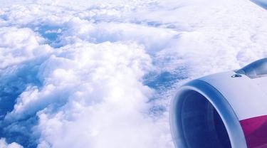 Ilustrasi pesawat.