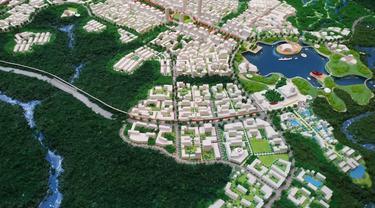 Desain Ibu Kota baru. Liputan6.com/Athika Rahma