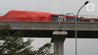 Tabrakan LRT Jabodebek Diduga karena Langsiran Terlalu Cepat