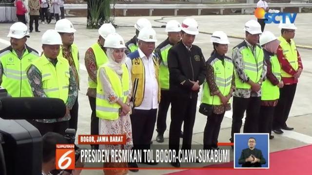 Adanya Tol Bocimi diharapkan dapat membantu pertumbuhan ekonomi Sukabumi.