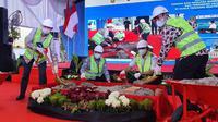 Bangun Sarfas BBM dan Pipa Gas, Sinergi Pertamina dan Pelindo 1 Penuhi Energi untuk Industri di Kuala Tanjung