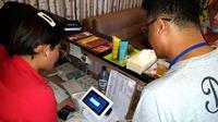 Alat pemantau pajak online atau e-tax dipasang di salah satu pusat hiburan di Kota Palembang Sumsel (Dok. Humas Pemkot Palembang / Nefri Inge)