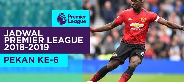 Berita video jadwal Premier League 2018-2019 pekan ke-6. Manchester United menjamu Wolverhampton.